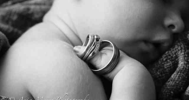 Baby Aidan's new born shoot - October 2011